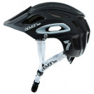 CASCO 7 PROTECTION M2-17 NEGRO MATE/BLANCO T-XL/XXL (60-63CM)