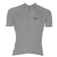 MAILLOT M/C BBB SOLID JERSEY GRIS T-S BBW-52 (OFERTA)