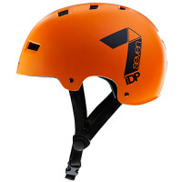 CASCO 7 PROTECTION M3-17 DIRT LID NARANJA/NEGRO T-L/XL (58-62CM)