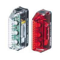 PILOTOS DELANTERO Y TRASEROS TOPEAK AERO USB COMBO RECARGABLE USB