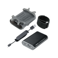 SmartPhone Holder With PowerPack 7800 mAh DUAL SPORT
