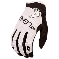 GUANTES 7 PROTECTION FLEX-17 BLANCO/NEGRO T-M