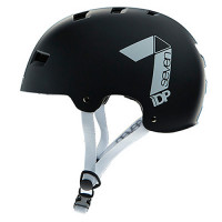 CASCO 7 PROTECTION M3-17 DIRT LID NEGRO MATE/BLANCO T-L/XL (58-62CM)