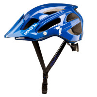 CASCO 7 PROTECTION M4-17 AZUL/BLANCO T-S/M (54-58CM)