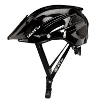 CASCO 7 PROTECTION M4-17 NEGRO/BLANCO T-L/XL (58-62CM)