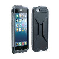 Weatherproof RideCase only. for iPhone 6 Plus. Black/Gray