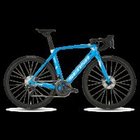 BICICLETA CARRETERA SENSA-20 GIULIA EVO DISC-CARIBBEAN BLUE & CHROME LIMITED