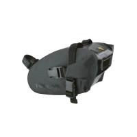 Wedge DryBag. Strap Mount. Black color version. Medium