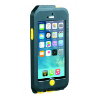 Weatherproof RideCase with RideCase Mount. for iPhone 5/5S. Black/Yellow