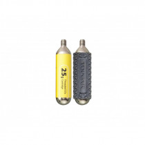 25G Threaded CO2 Cartridge 2 pcs/package for 29er tire  (replace by TCO25-3)