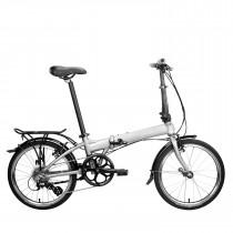Bicicleta Plegable Dahon Mariner D8 Gris Plata