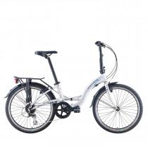 Bicicleta Plegable Dahon Briza D8 Gris Plata